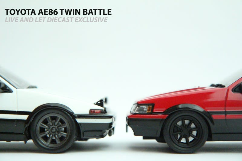 Illustration for article titled Toyota AE86 Twin Battle: Part I