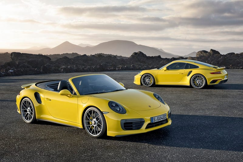 Illustration for article titled 2017 Porsche 911 Turbo And Turbo S: This Is It