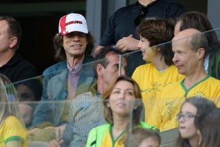 Illustration for article titled World Cup Jinx Mick Jagger Screwed The Brazilians Again
