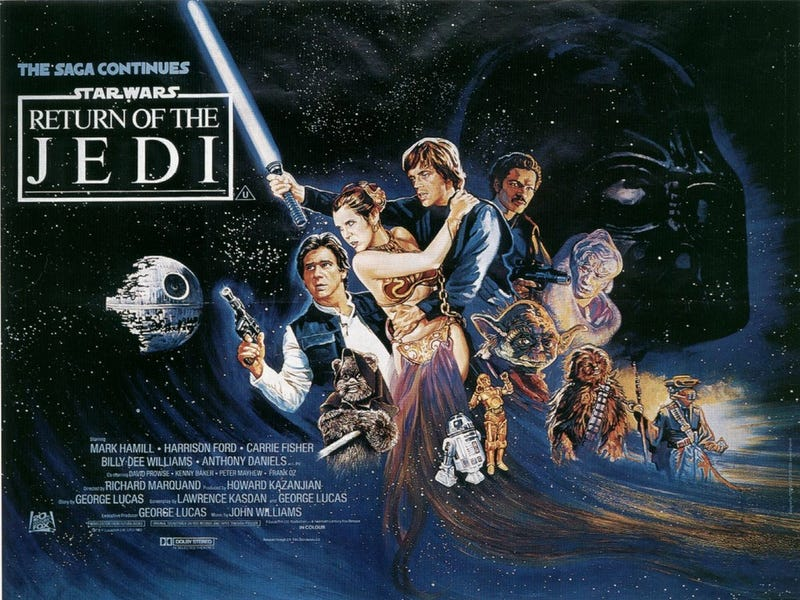 Illustration for article titled Why Return of the Jedi Was the Most Grown-Up Star Wars Movie