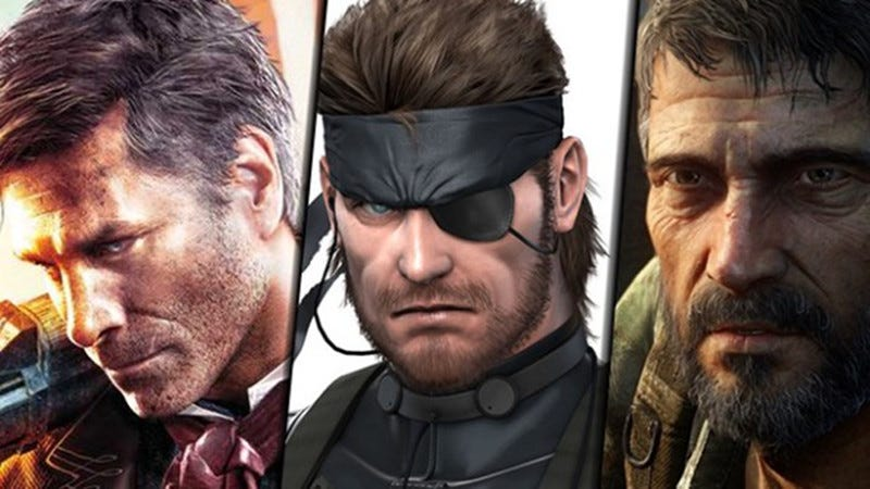 Illustration for article titled Brooding White Male Video Game Protagonists, Ranked