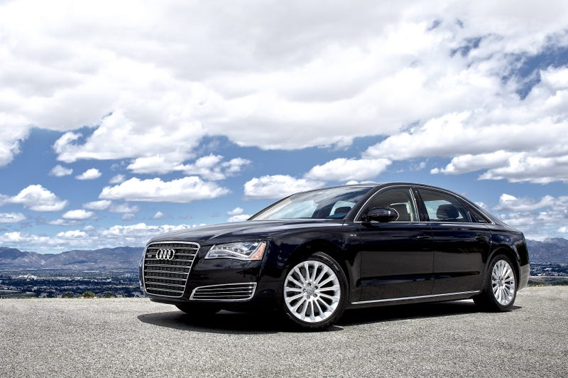 Illustration for article titled Audi A8 W12