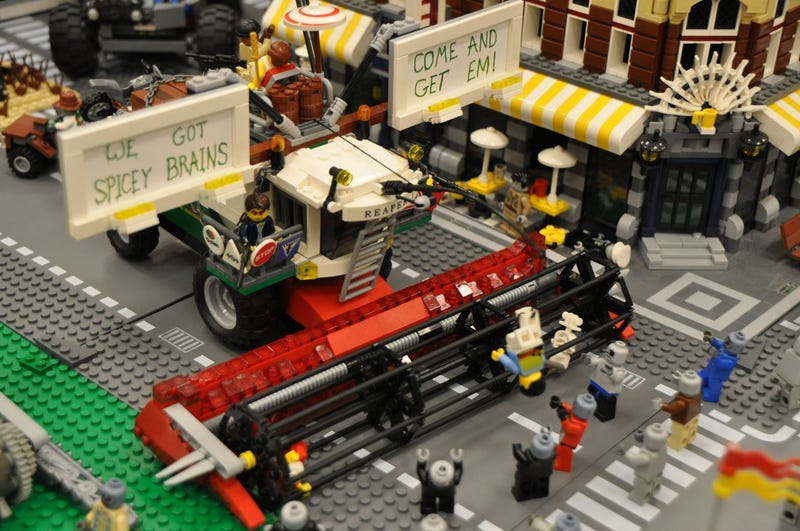 Image gallery lego zombie apocalypse for Zombie build