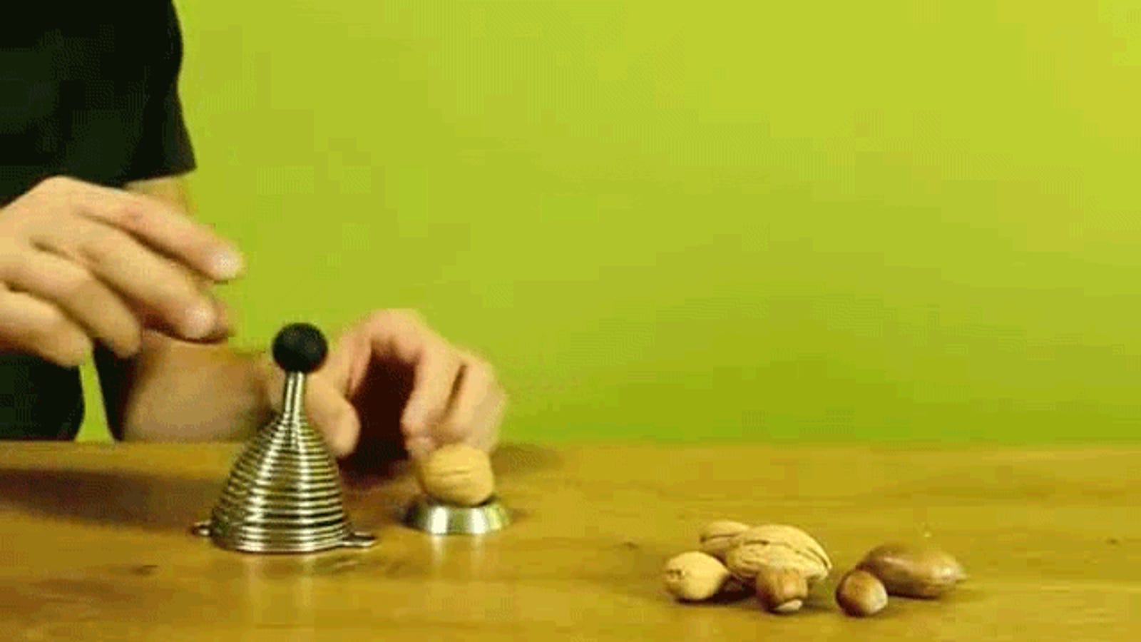 I Need This Genius Spring Smasher To Crack My Nuts
