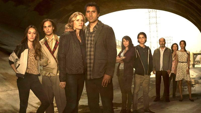 The cast of Fear The Walking Dead