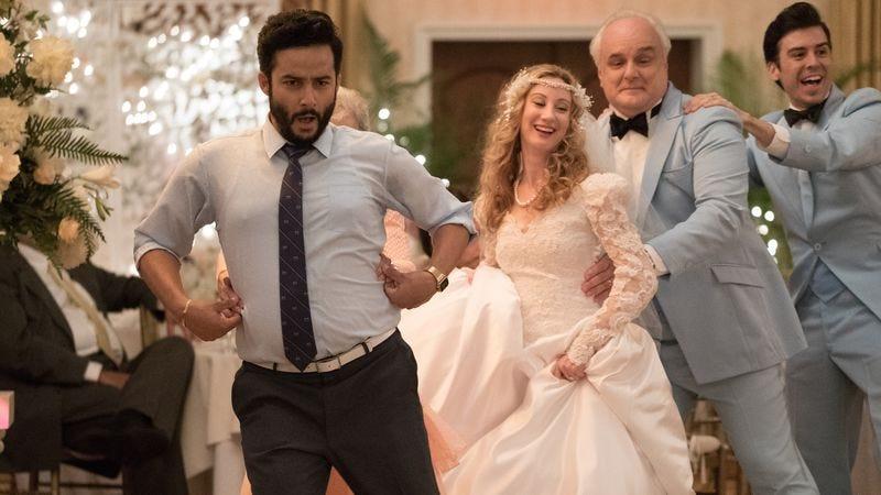 "Ennis Esmer as Nash in ""The Wedding"""