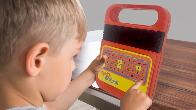 My Favorite Childhood Gadget of the  80s, the Speak & Spell, Is Back