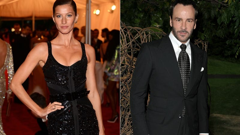 Illustration for article titled Tom Ford Warns Gisele to Start Worrying Now About Losing Her Looks