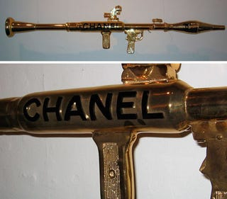 Illustration for article titled That Chanel Rocket Launcher Is SO Iraq Spring 2007