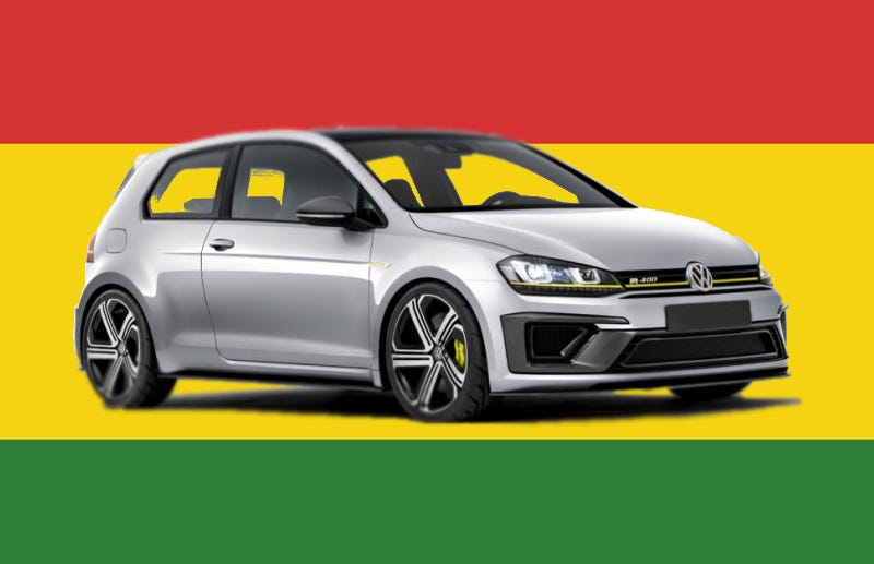 Illustration for article titled Volkswagen's Upcoming Golf R420 Sounds Like A Blazin' Hot Hatch