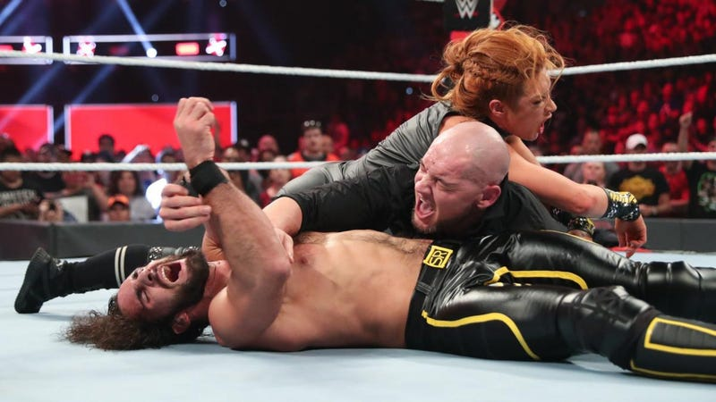 WWE's Intergender Experiment Is Still A Work In Progress