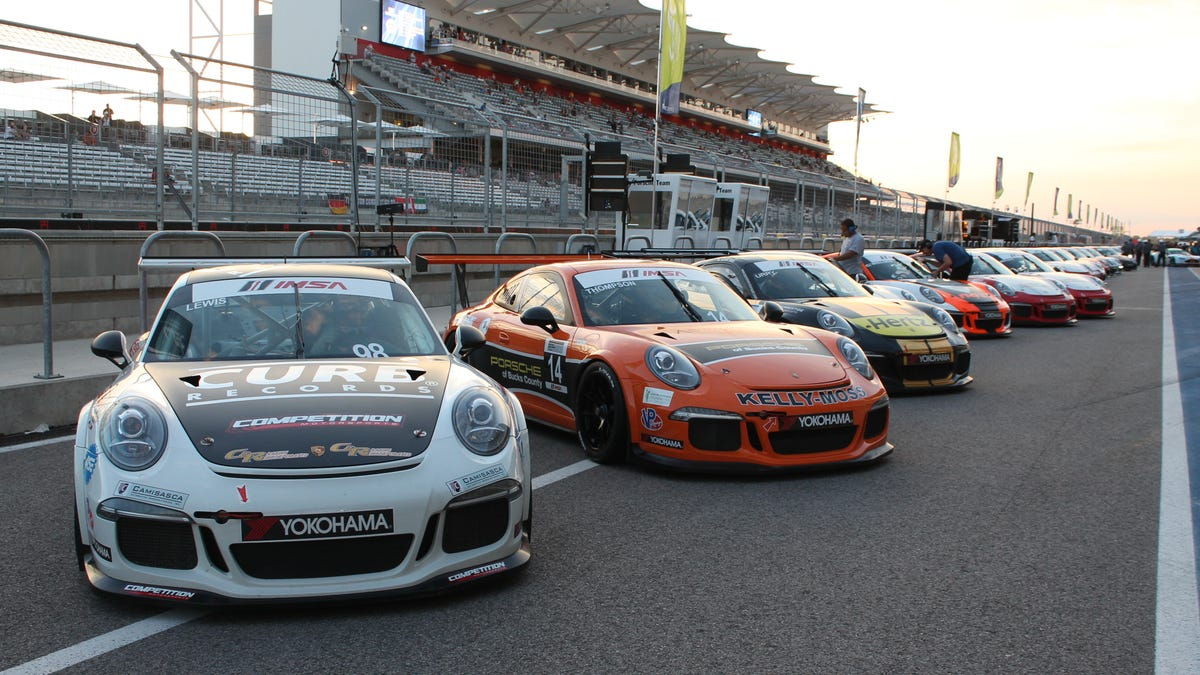 All Of The Porsches From Lone Star Le Mans