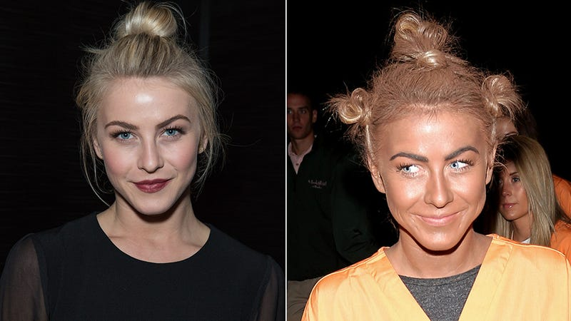 Illustration for article titled Julianne Hough is So Sorry She Wore Blackface for Halloween