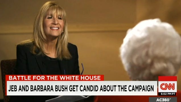 Jeb's Biggest Bully Is Barbara Bush
