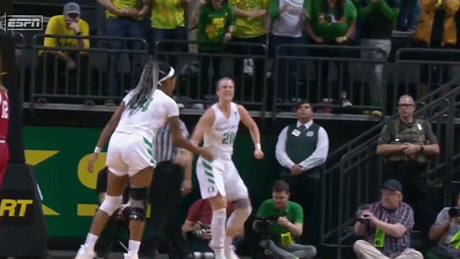 Sabrina Ionescu Made Sure She Got Her 18th Triple-Double, Then Put ESPN On Blast
