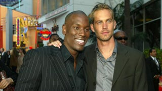 LOS ANGELES - JUNE 3:  Actors Tyrese (L) and Paul Walker arrive at the premiere of '2 Fast 2 Furious' at the Universal Amphitheatre on June 3, 2003 in Los Angeles, California. (Photo by Kevin Winter/Getty Images)Photo by Kevin Winter/Getty Images