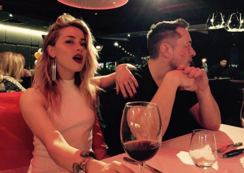 Elon Musk steps out in Australia with Amber Heard