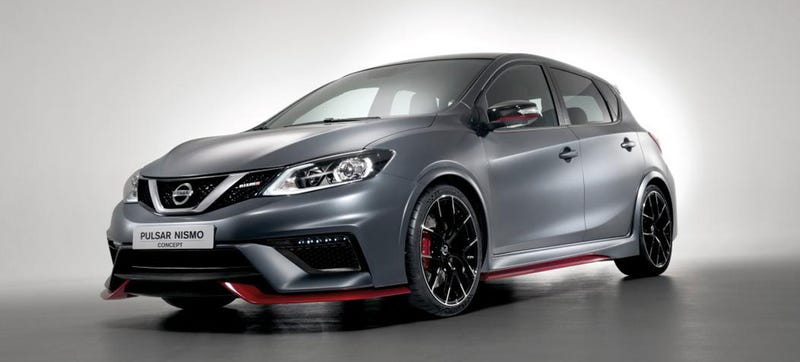 Illustration for article titled Nissan Pulsar Nismo Concept: A 250 HP Return To Hot Hatch Glory