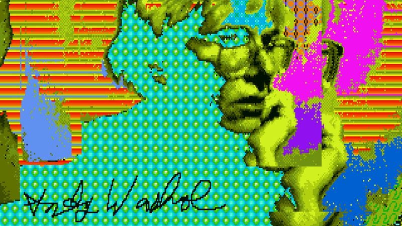 Illustration for article titled Researchers unearth lost Andy Warhol computer art