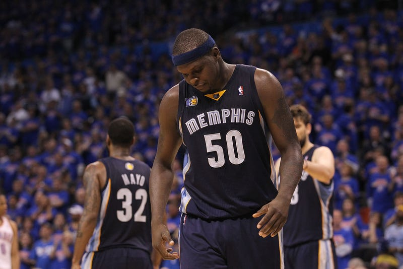 Illustration for article titled Police Pointed A Gun At Zach Randolph While He Was In Bed With A Woman