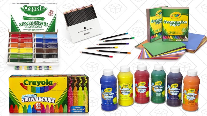 Amazons Gold Box Is Overflowing With Crayola Art Supplies