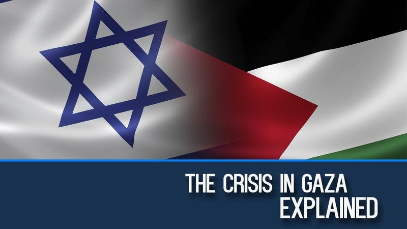 Illustration for article titled The Conflict In Gaza Explained In One Long Noise