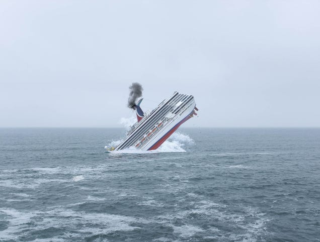 Carnival Sinks Cruise Ship Rather Than Letting It Fall Into Coronavirus' Clutches