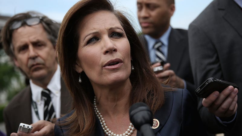 Illustration for article titled Michele Bachmann Calls Moses America's 'Greatest Lawmaker'