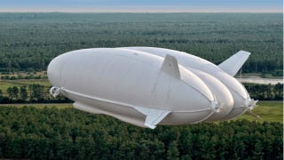 Illustration for article titled The World's Biggest Aircraft Could Launch a New Age of Airships