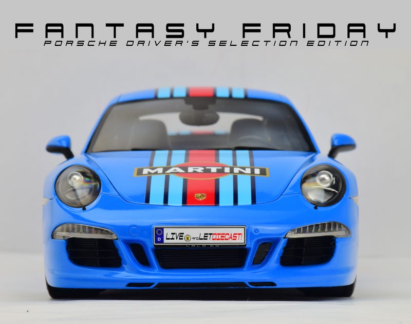 Illustration for article titled Fantasy Friday: Porsche Driver's Selection Edition