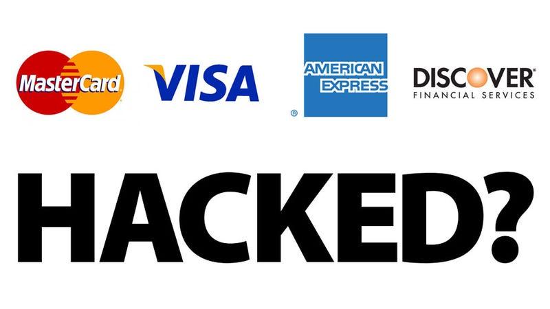 Illustration for article titled Every Major Credit Card Provider Is Potentially Hacked Right Now