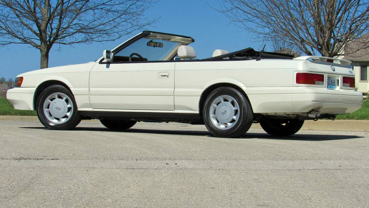 At 4 990 Could You Be Ready To Make Memories In This 1992 Infiniti M30 Convertible
