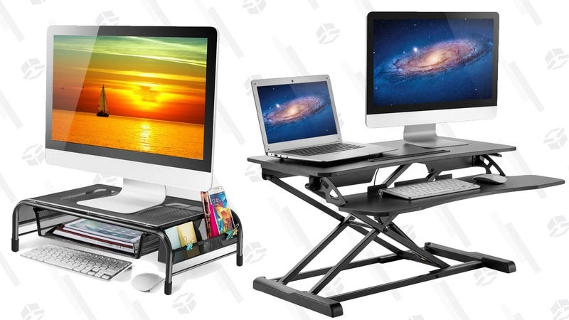 Illustration for article titled Improve Your Workspace's Ergonomics With This One-Day Amazon Sale