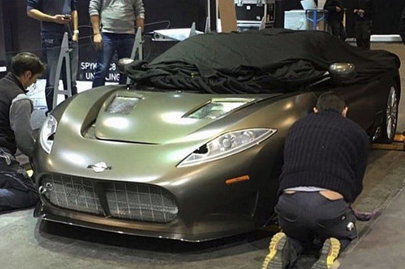 Illustration for article titled Spyker is back - will be at Geneva!