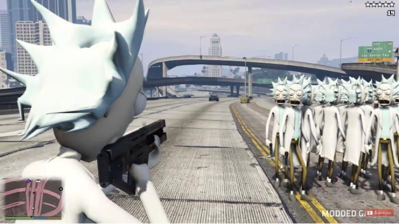 Screenshot: GTA 5 Mod