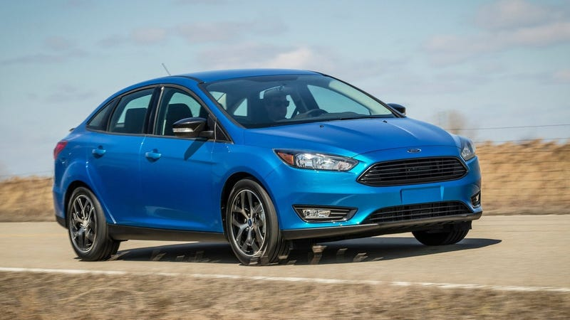 Illustration for article titled There's Only 12,000 Remaining Ford Focus Sedans Left for Sale in the U.S.: Report