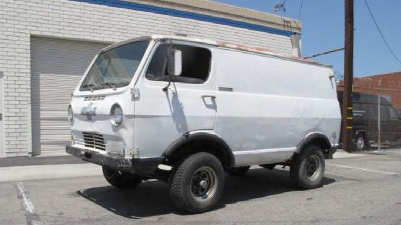 For 2 900 This 1965 Chevy Van Could Be Your 4x4 War Wagon