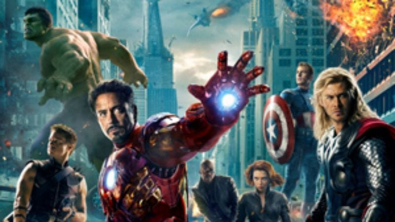 Illustration for article titled More Comic-Con news: Marvel announces Avengers 2, talks about all of its other movies