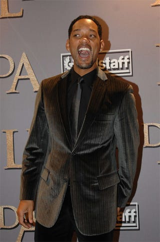 Illustration for article titled Will Smith: Overly Excited By Brown Velvet