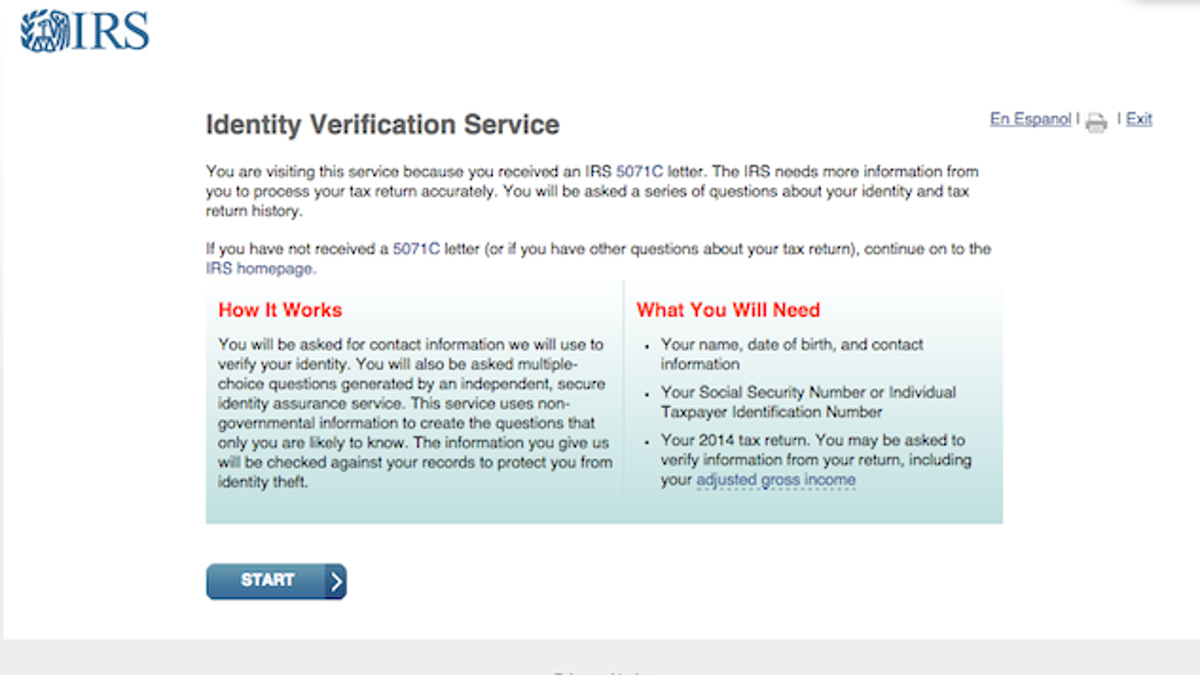 What to do when the irs needs to verify your identity falaconquin