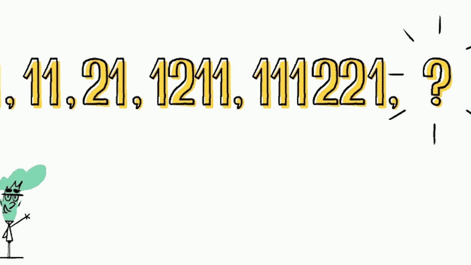 ¿Eres capaz de adivinar lo que sigue en esta extraña secuencia de números?