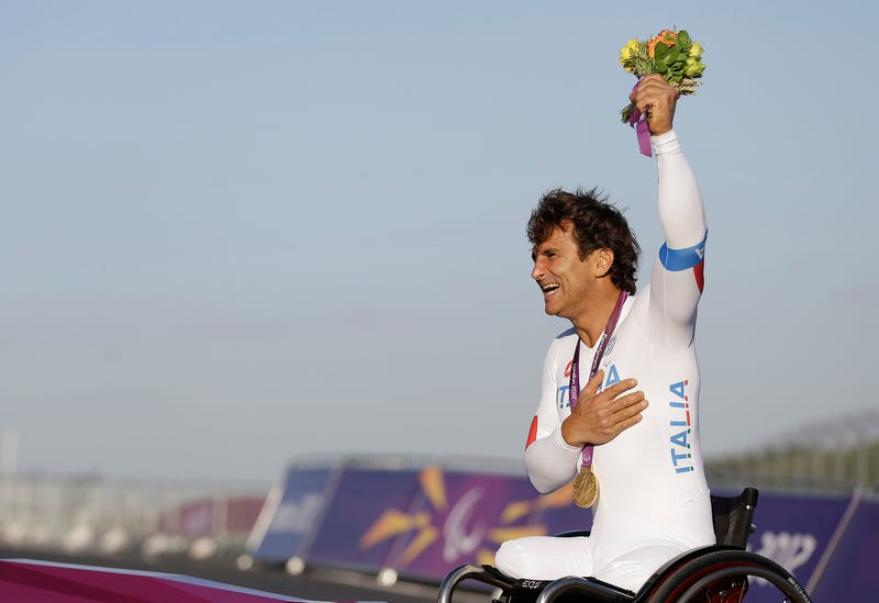 Zanardi's 2012 gold medal victory in London, Alastair Grant via AP Images