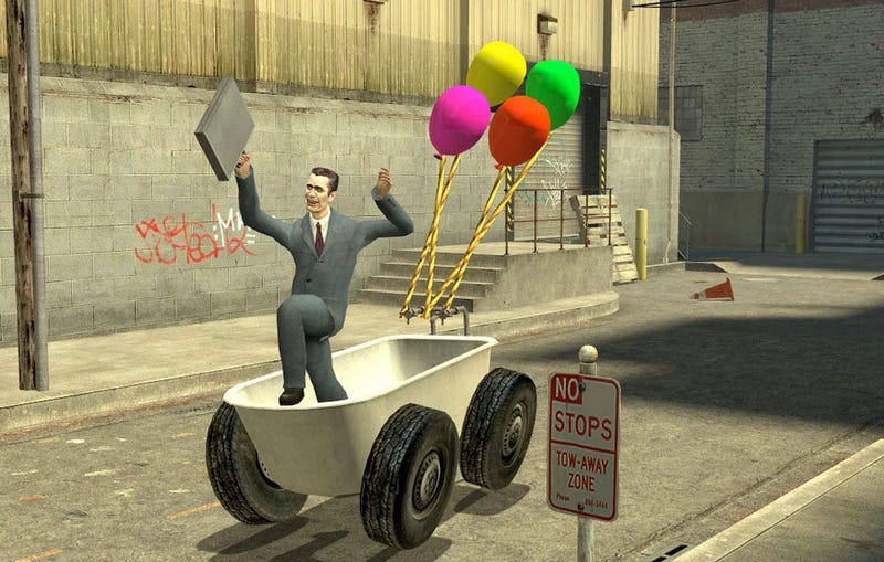 Illustration for article titled Garry's Mod Brings Source Powered Insanity To Macs