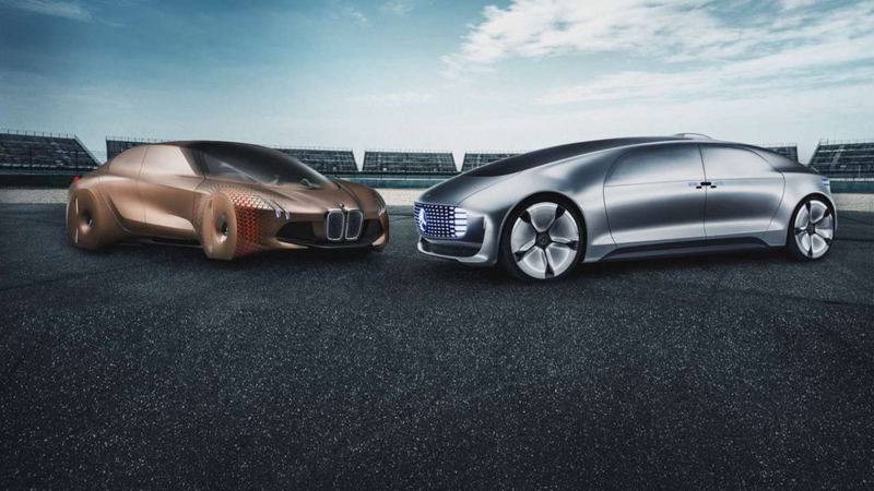 Illustration for article titled Mercedes and BMW Set Ambitious Goals for Autonomy Team Up