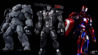 Illustration for article titled Sentinel Shows Off A Whole Legion Of Awesome Iron Man Figures