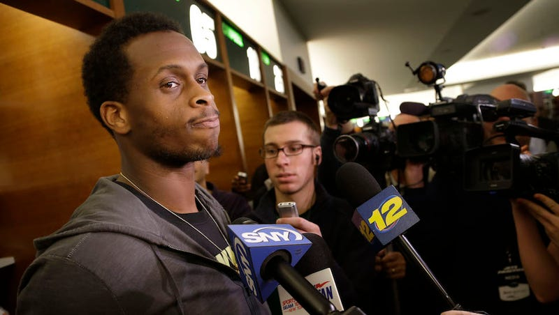 Illustration for article titled Geno Smith Undergoes Jets Rite Of Passage: A Cock-Shot Scandal