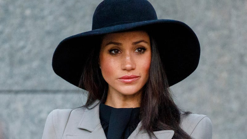 Meghan Markle attends an Anzac Day service at Hyde Park Corner on April 25, 2018, in London.