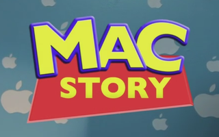 Illustration for article titled We Had Toy Story. Kids These Days Probably Have…Mac Story? Ack!