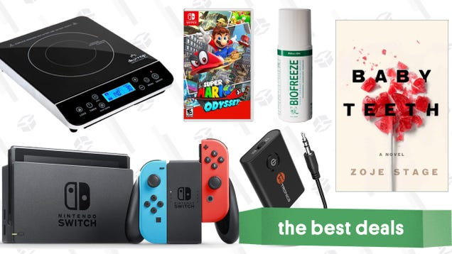 Sunday s Best Deals: Mar10 Switch Discounts, Kindle Ebooks, Induction Burners, and More