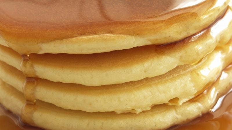 Illustration for article titled Nation Demands More Slow-Motion Footage Of Syrup Cascading Onto Pancakes